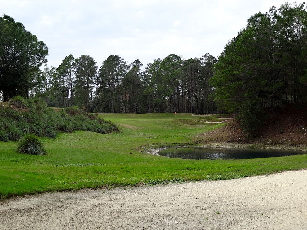 16th Hole at World Woods (Pine Barrens) (224 Yard Par 3)