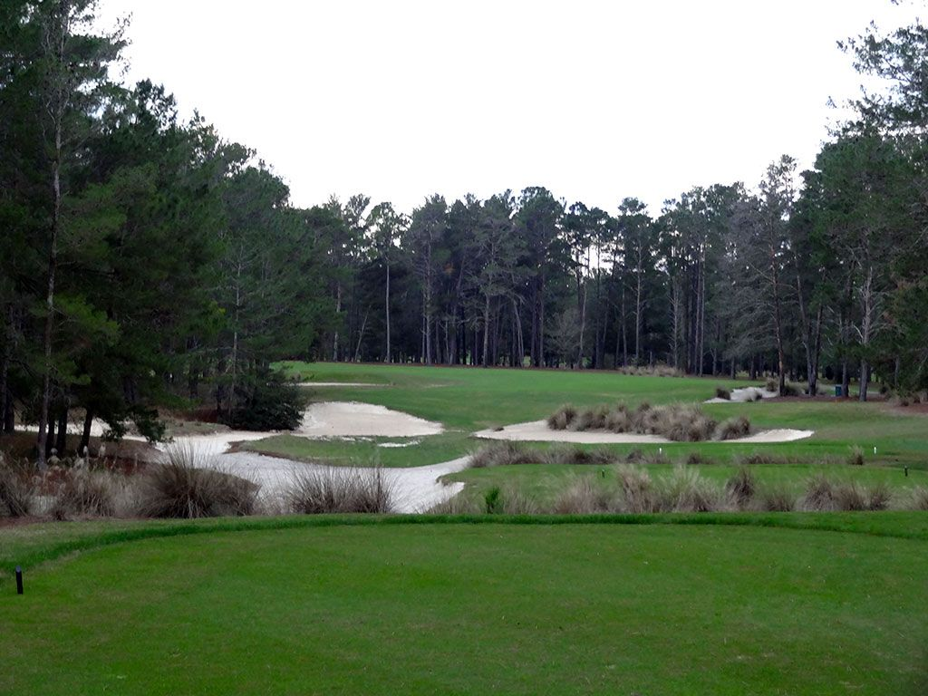 18th Hole at World Woods (Pine Barrens) (446 Yard Par 4)