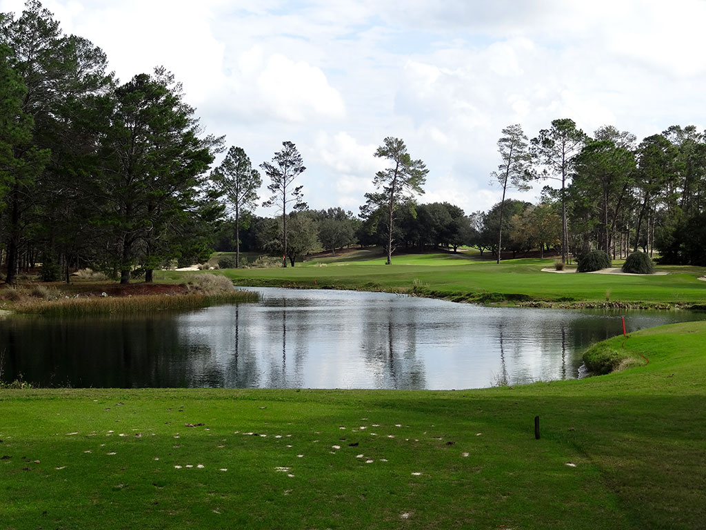 3rd Hole at World Woods (Pine Barrens) (176 Yard Par 3)