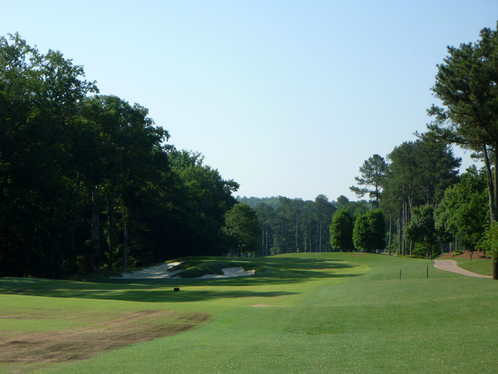 10th Hole at Atlanta Athletic Club (Highlands) (436 Yard Par 4)