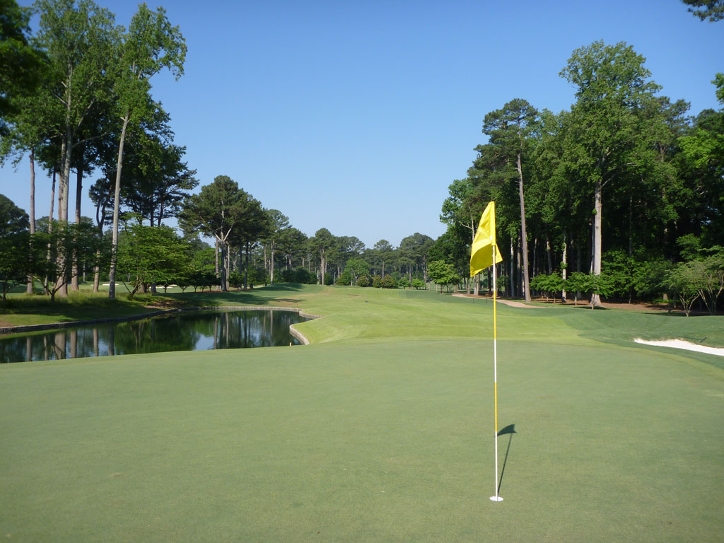 12th Hole at Atlanta Athletic Club (Highlands) (555 Yard Par 5)