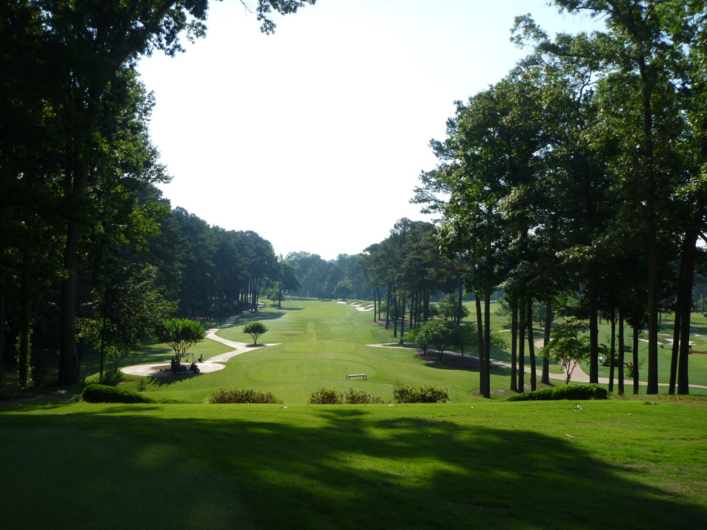 12th Hole at Atlanta Athletic Club (Highlands) (555 Yard Par 5)