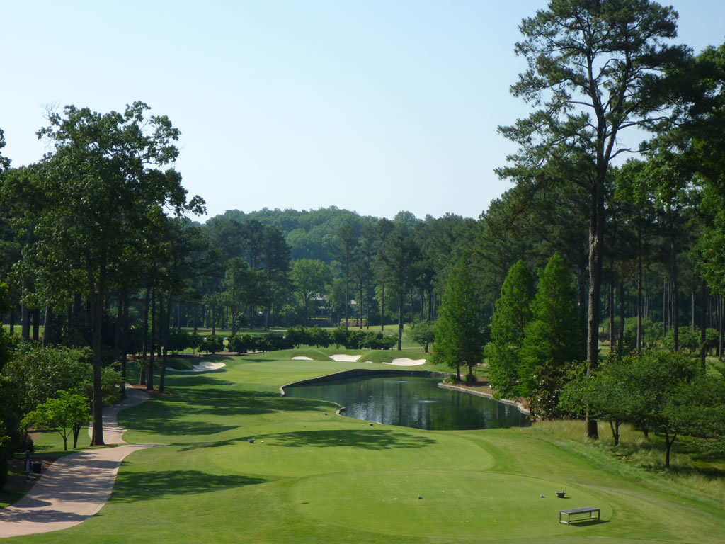 15th Hole at Atlanta Athletic Club (Highlands) (260 Yard Par 3)