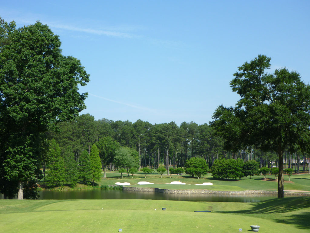 17th Hole at Atlanta Athletic Club (Highlands) (210 Yard Par 3)