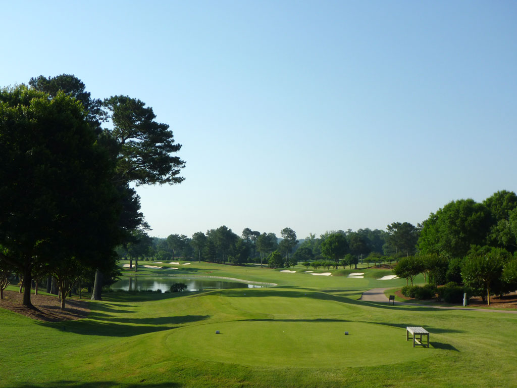 8th Hole at Atlanta Athletic Club (Highlands) (467 Yard Par 4)