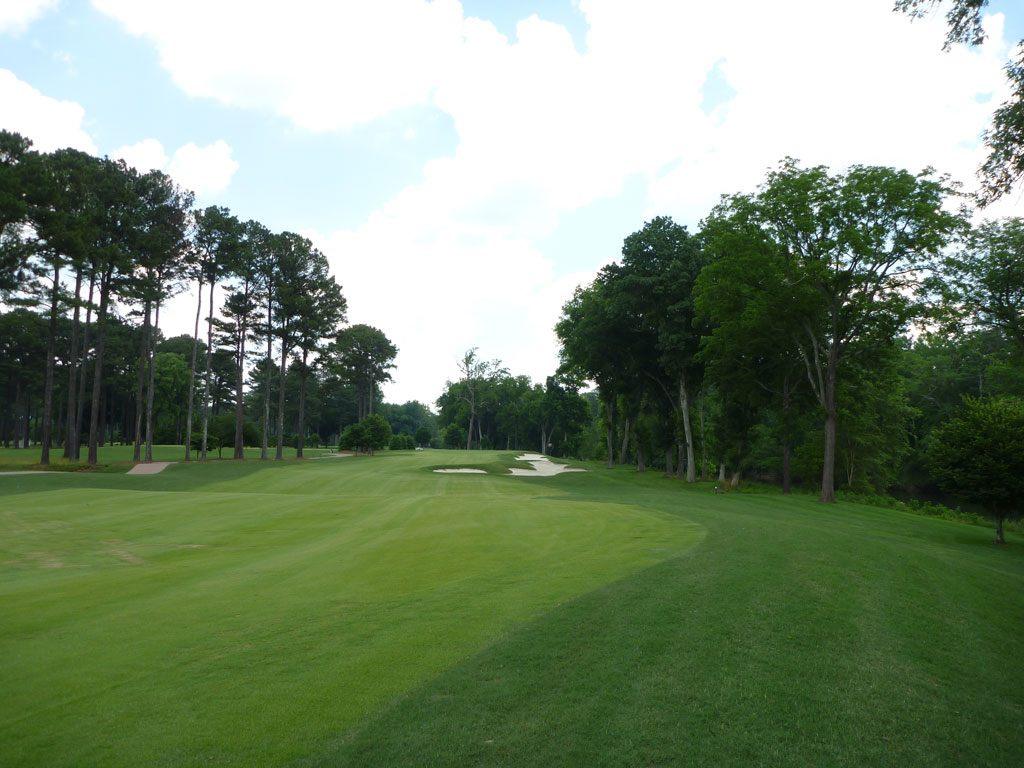 13th Hole at Atlanta Athletic Club (Riverside) (536 Yard Par 5)