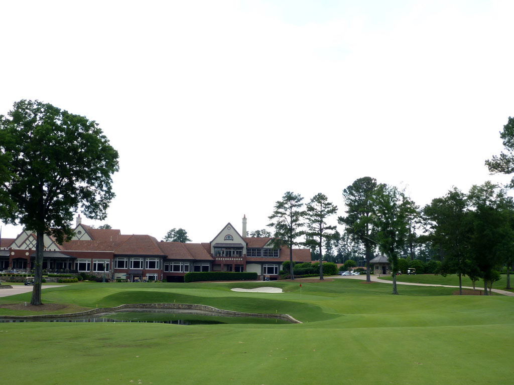 18th Hole at Atlanta Athletic Club (Riverside) (586 Yard Par 5)