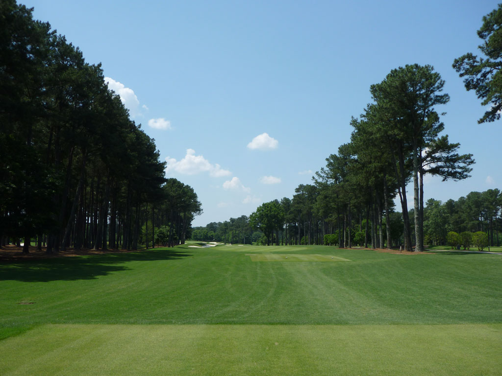 1st Hole at Atlanta Athletic Club (Riverside) (616 Yard Par 5)