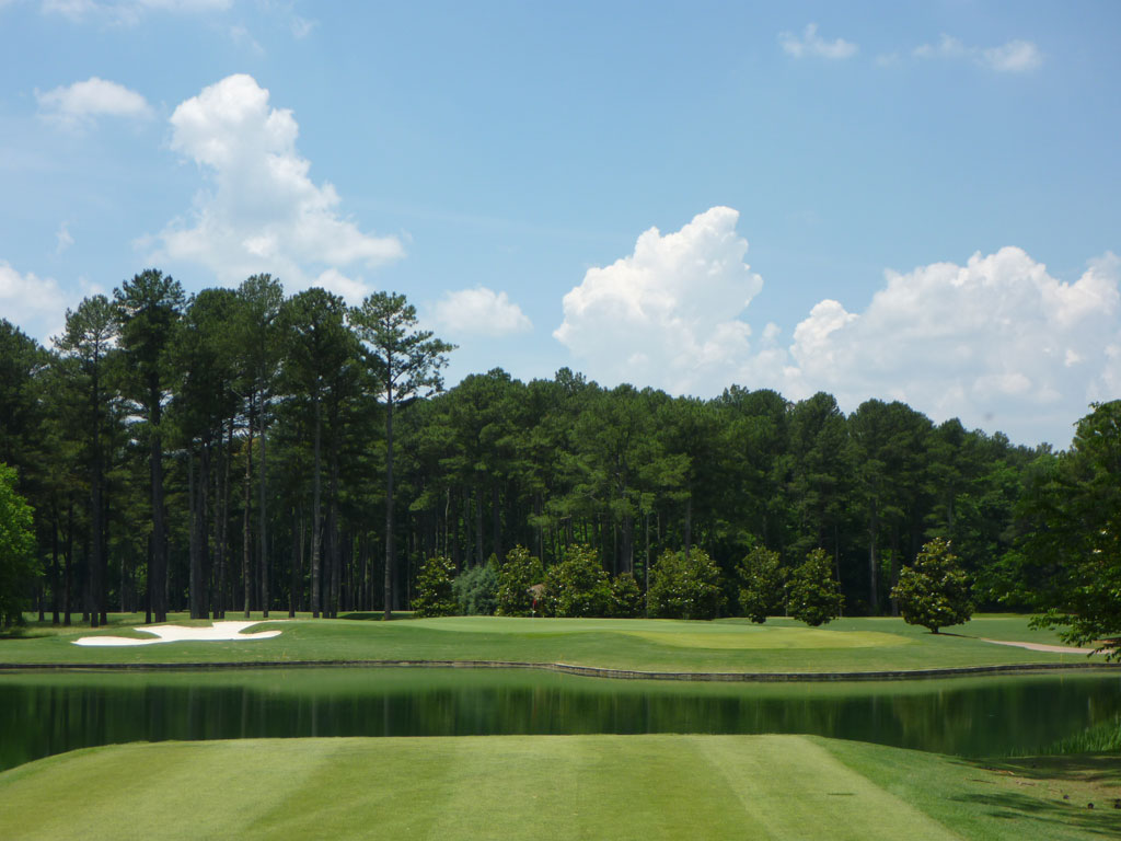 6th Hole at Atlanta Athletic Club (Riverside) (200 Yard Par 3)