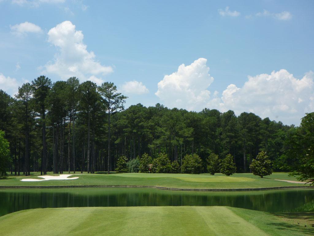 6th Hole at Atlanta Athletic Club (Riverside) (200 Yard Par 3)