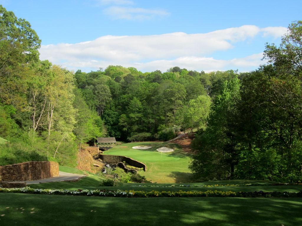 13th Hole at Atlanta Country Club (153 Yard Par 3)