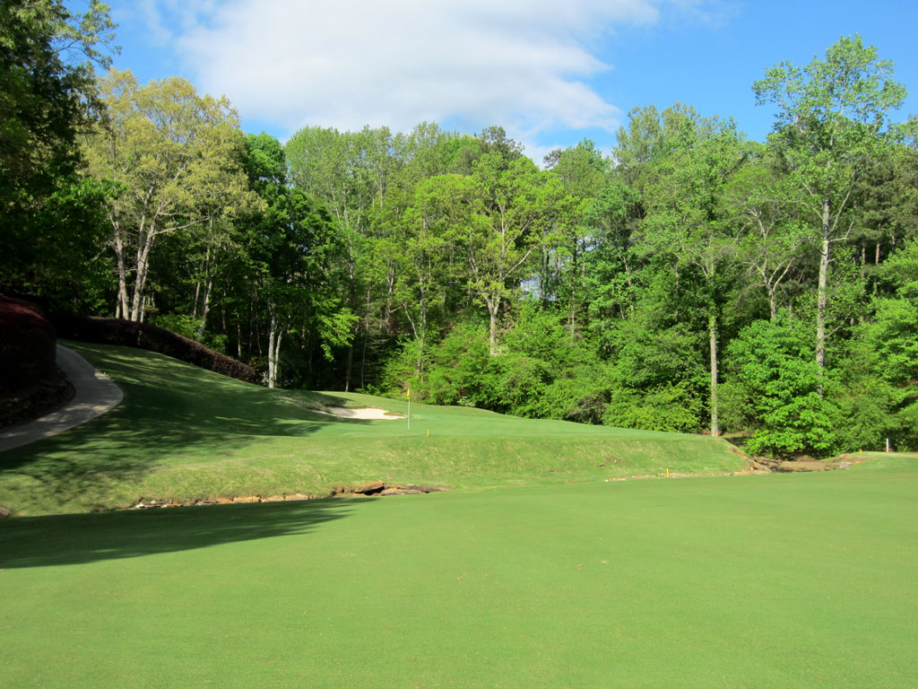 14th Hole at Atlanta Country Club (329 Yard Par 4)