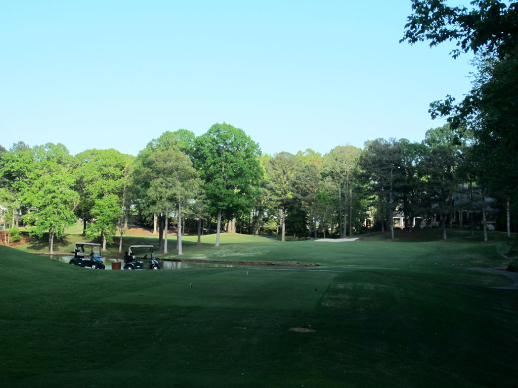 18th Hole at Atlanta Country Club (498 Yard Par 5)