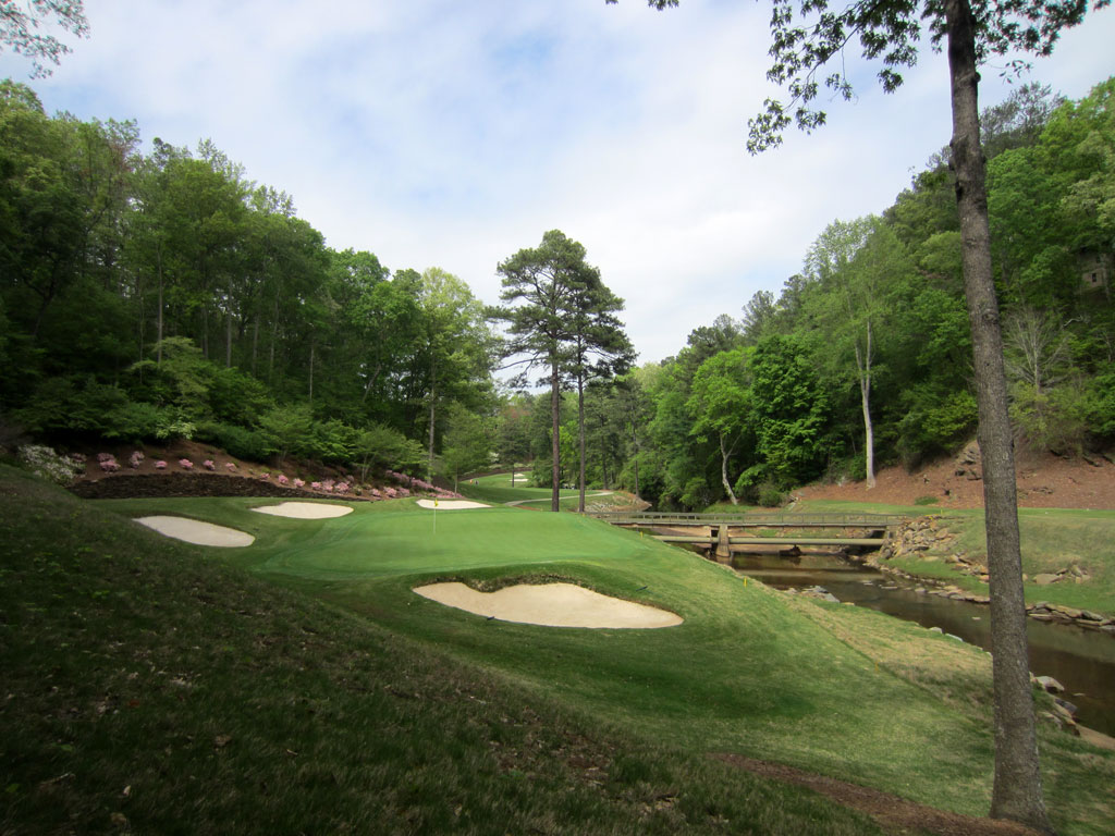 6th Hole at Atlanta Country Club (205 Yard Par 3)