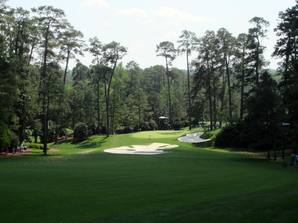 10th Hole at Augusta National Golf Club (495 Yard Par 4)