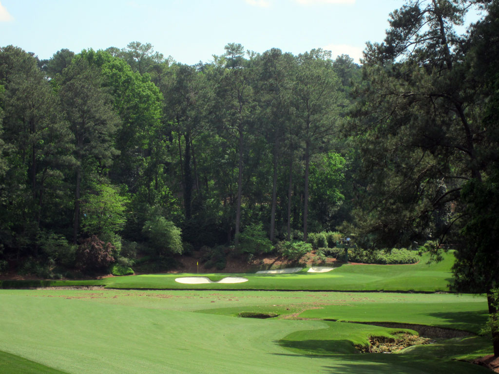 Golden Bell, Augusta's stunning 12th hole