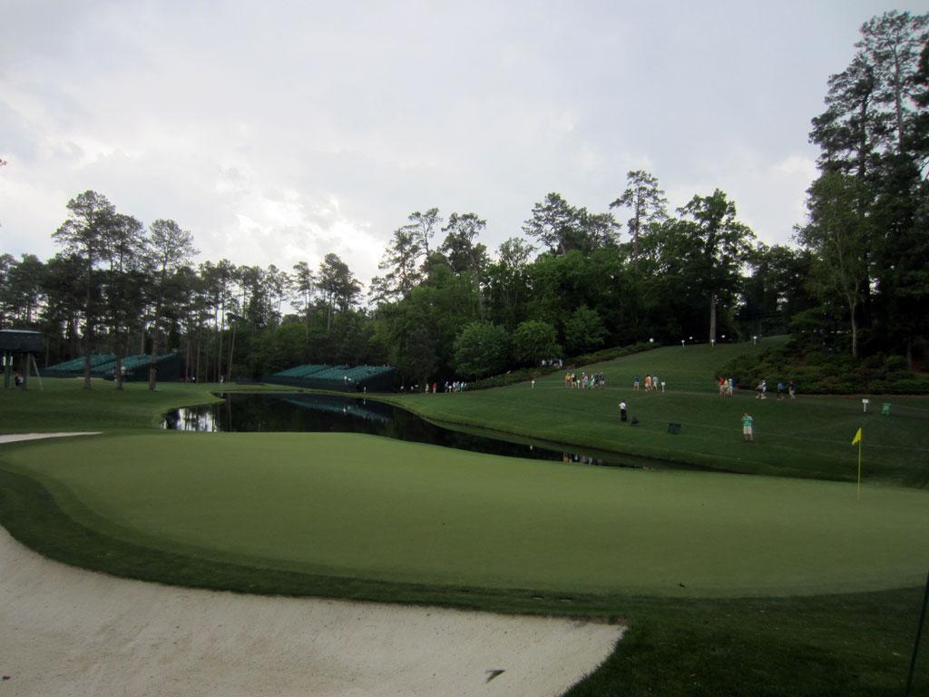 16th Hole at Augusta National Golf Club (170 Yard Par 3)