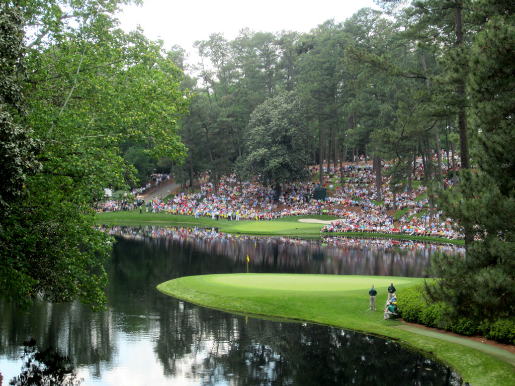 The par 3 course at Augusta National