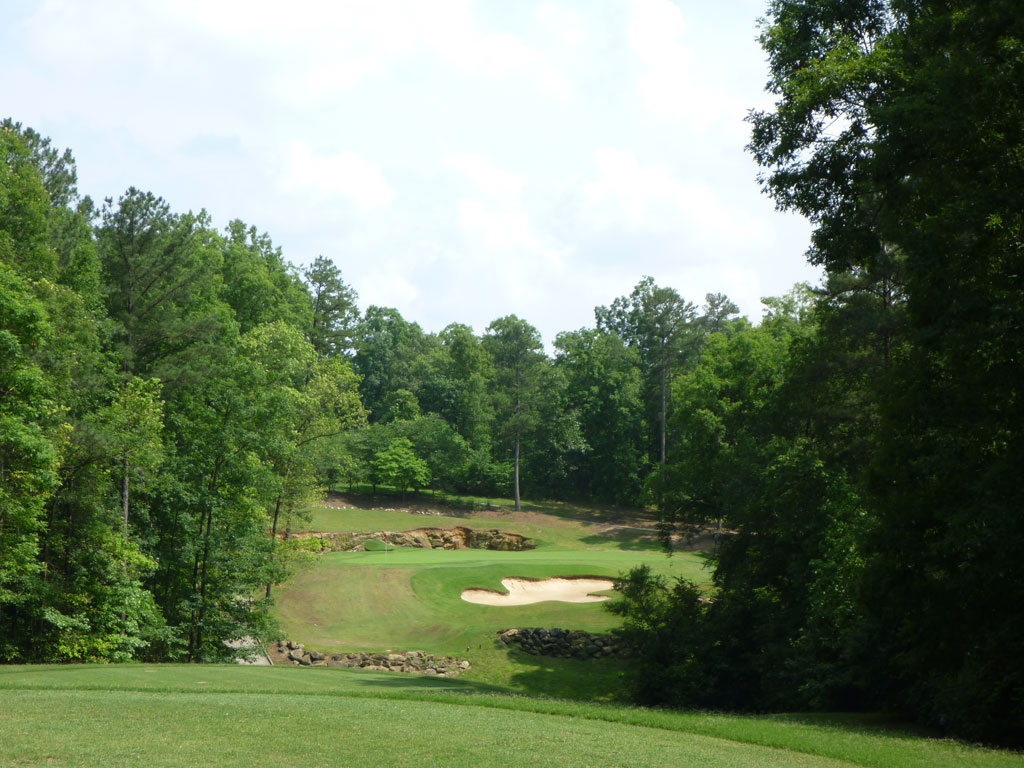 3rd Hole at Cherokee Run Golf Club (196 Yard Par 3)