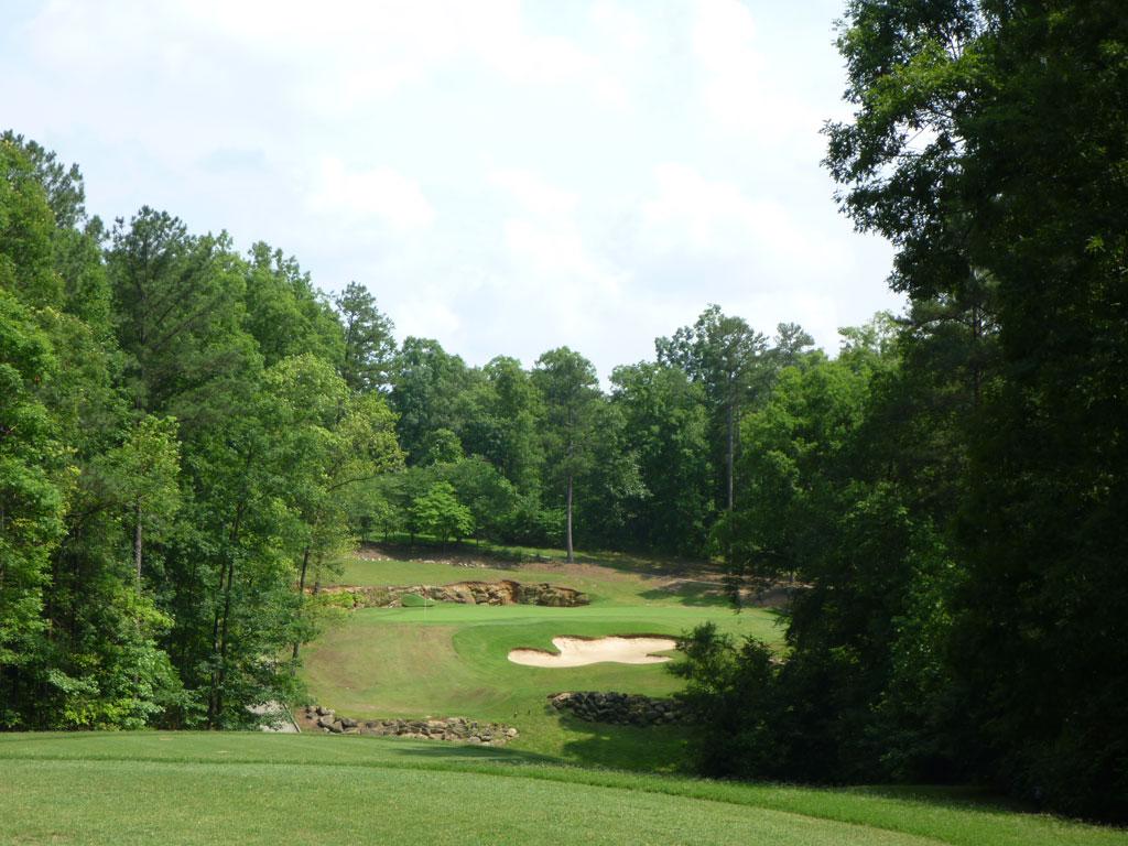 3rd Hole at Cherokee Run Country Club (196 Yard Par 3)