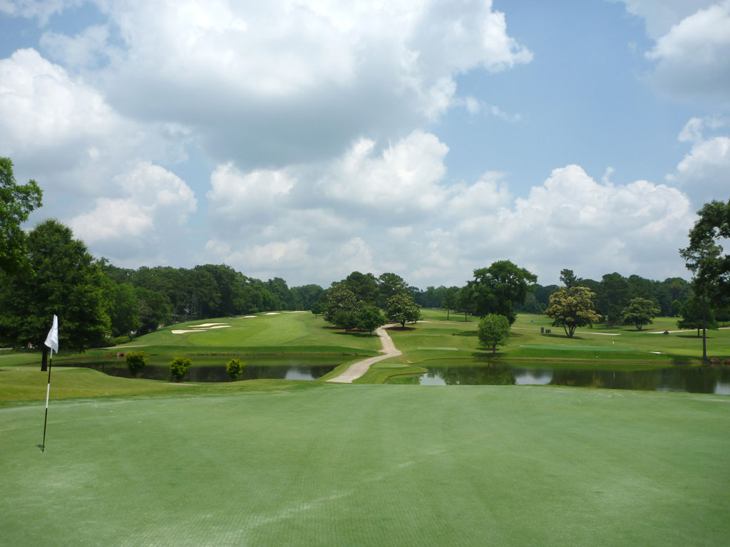 18th Hole at East Lake Golf Club (232 Yard Par 3)