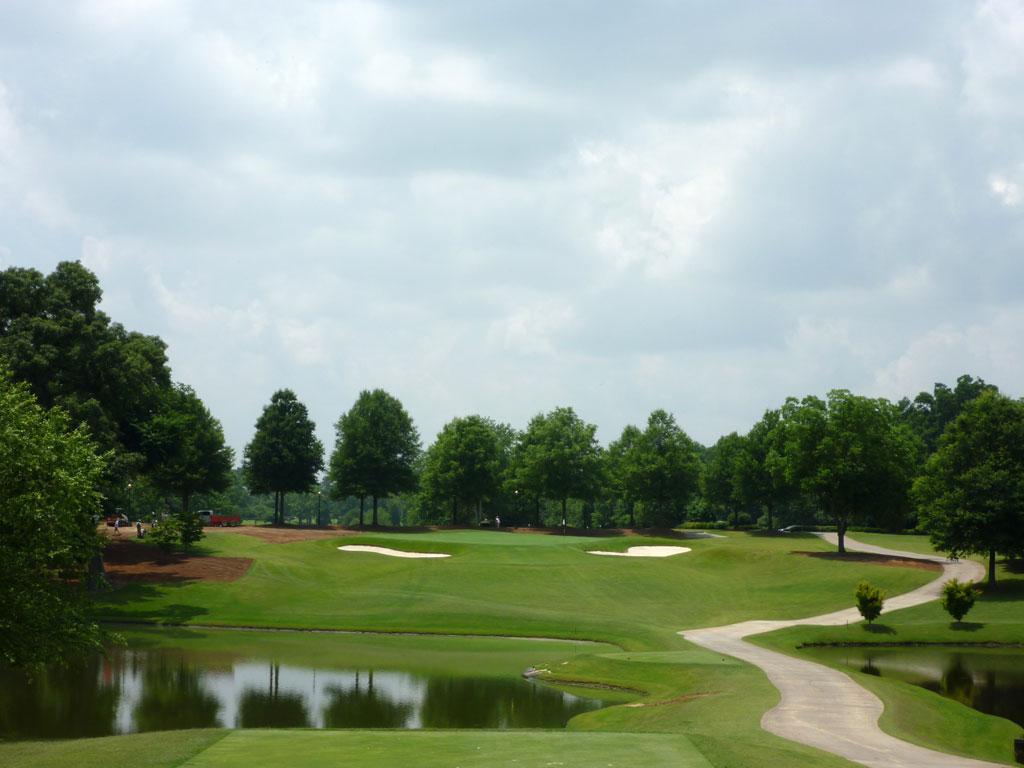 18th Hole at East Lake Golf Club (232 Yard Par 3)