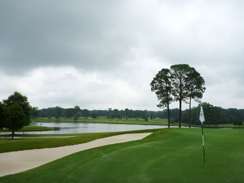 5th Hole at East Lake Golf Club (559 Yard Par 5)
