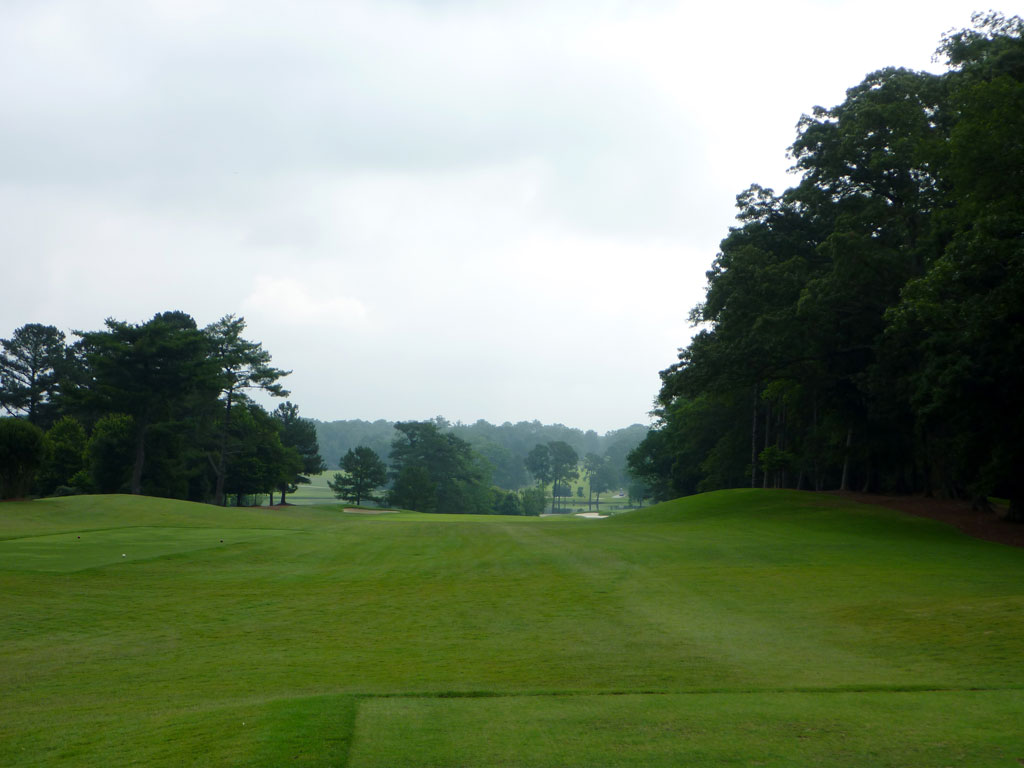 14th Hole at East Lake Golf Club (559 Yard Par 5)