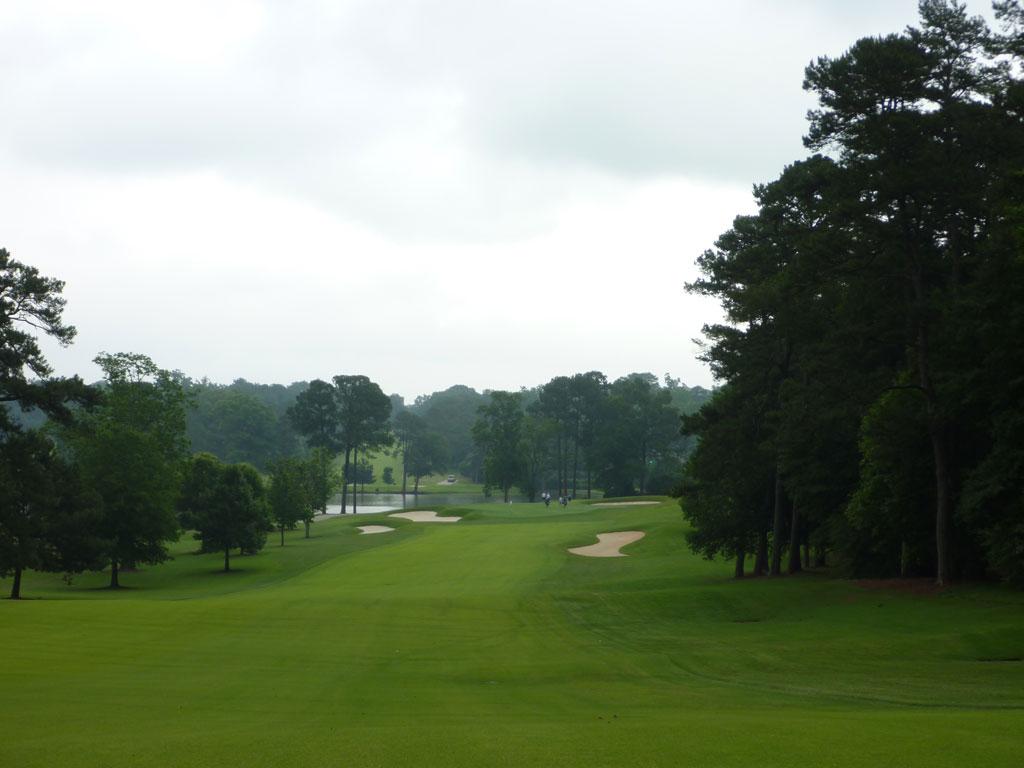 5th Hole at East Lake Golf Club (559 Yard Par 5)
