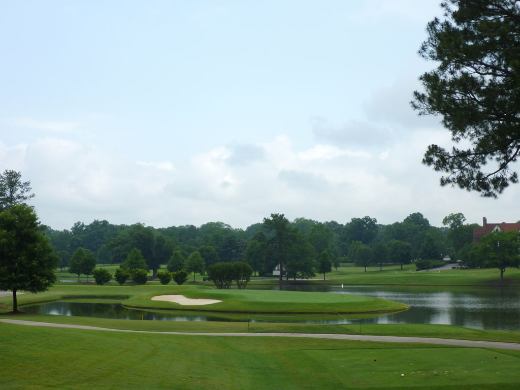 6th Hole at East Lake Golf Club (213 Yard Par 3)