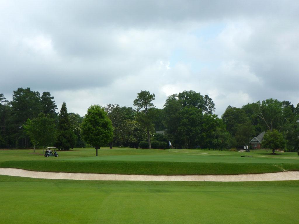 8th Hole at East Lake Golf Club (407 Yard Par 4)