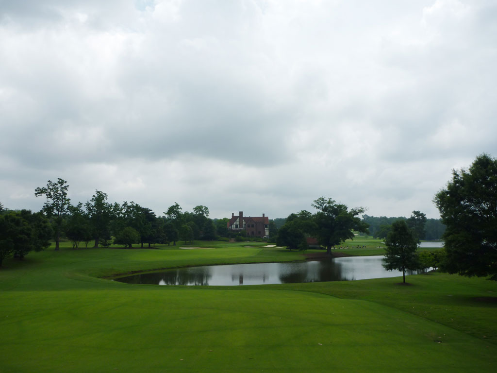 9th Hole at East Lake Golf Club (589 Yard Par 5)