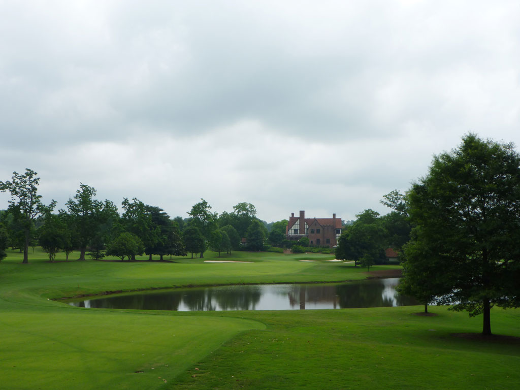18th Hole at East Lake Golf Club (589 Yard Par 5)