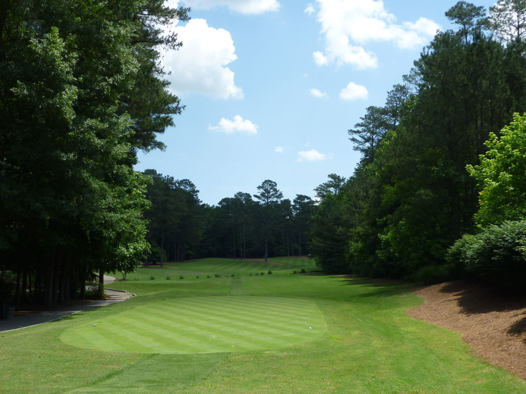 15th Hole at Golf Club of Georgia (Creekside) (539 Yard Par 5)