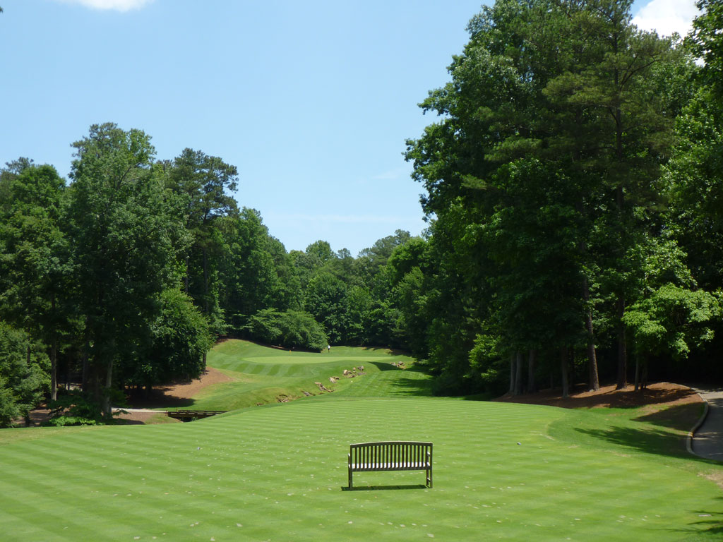 16th Hole at Golf Club of Georgia (Creekside) (224 Yard Par 3)