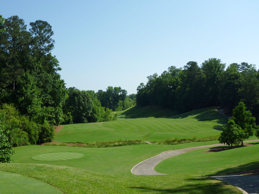 3rd Hole at Golf Club of Georgia (Creekside) (419 Yard Par 4)