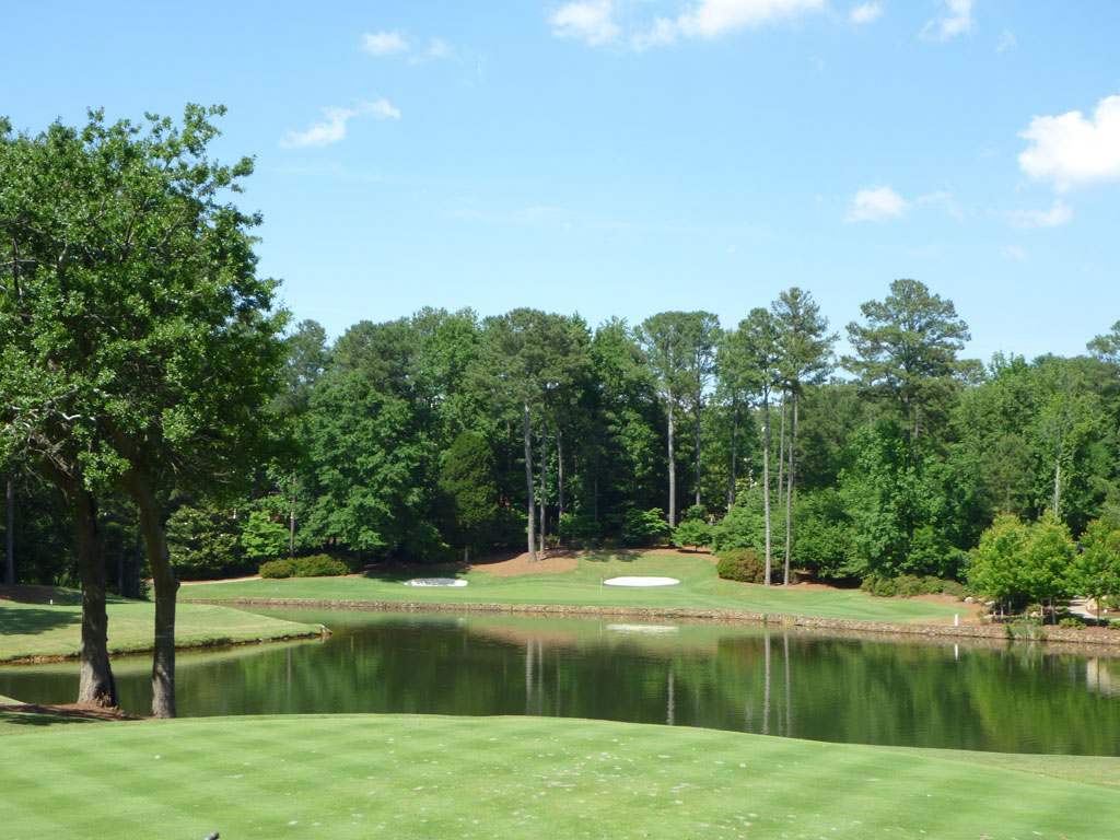 13th Hole at Golf Club of Georgia (Lakeside) (183 Yard Par 3)