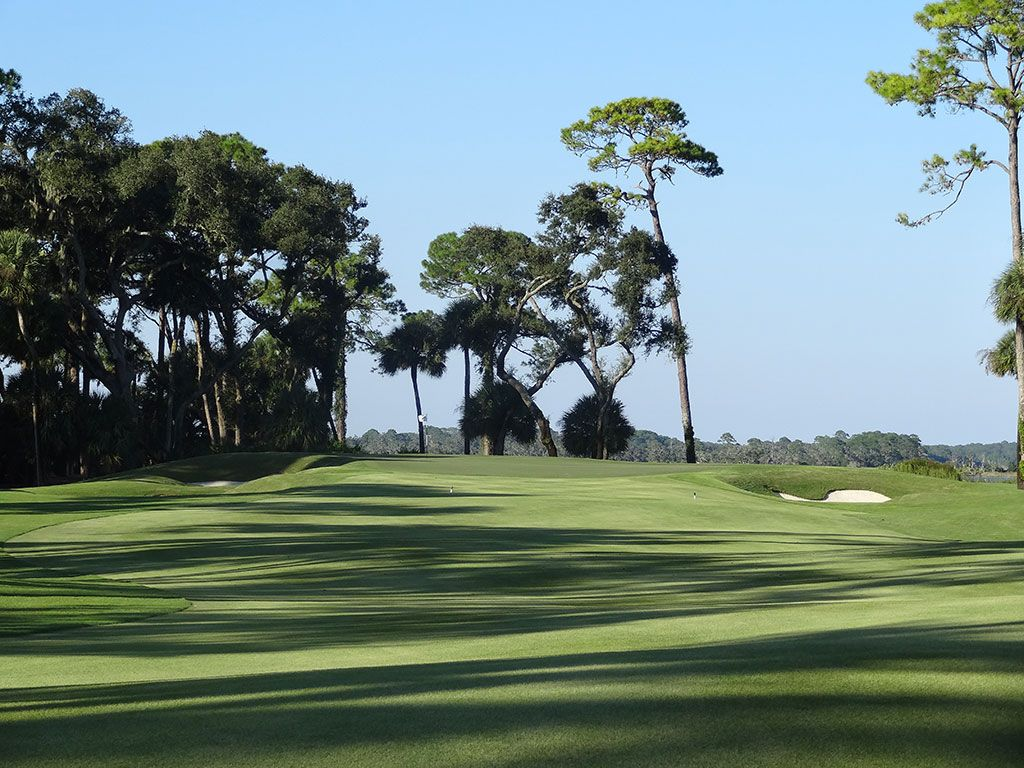 12th Hole at Ocean Forest Golf Club (483 Yard Par 4)
