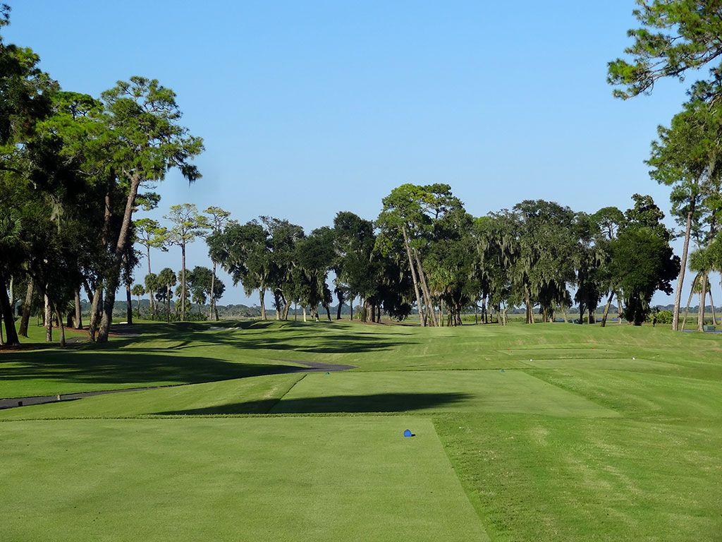 12th Hole at Ocean Forest Golf Club (483 Yard Par 4)