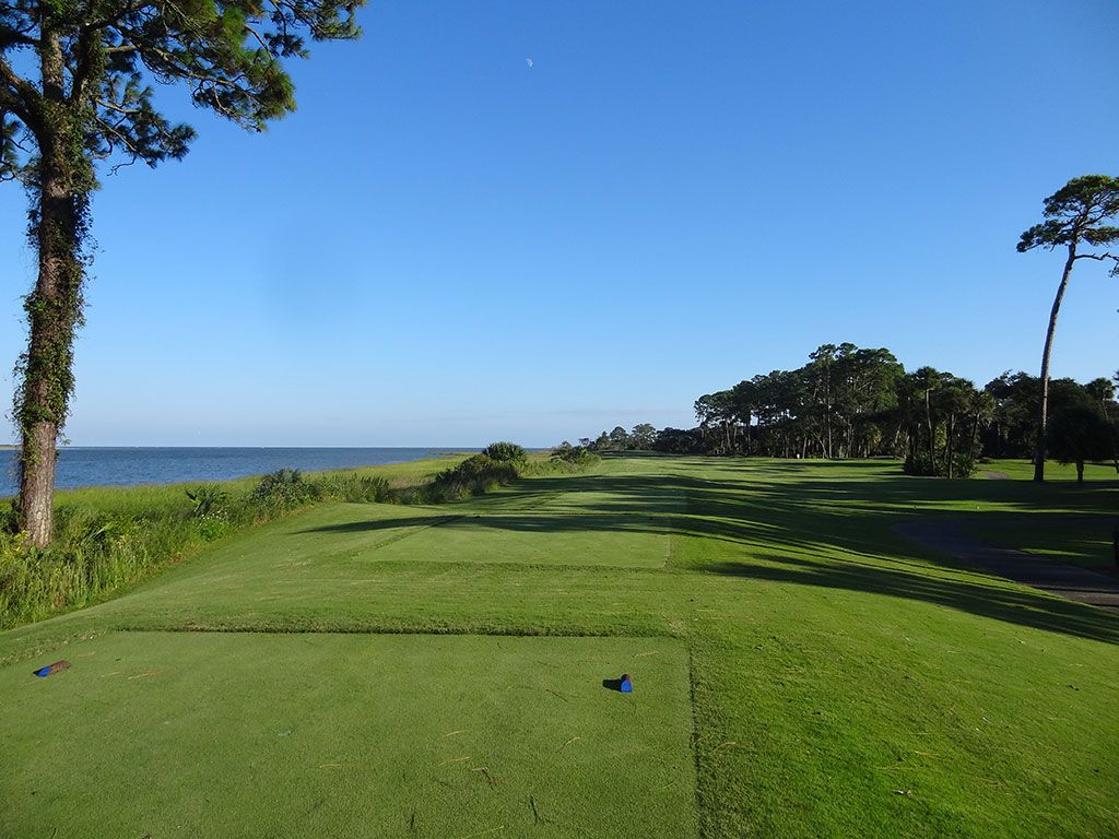 13th Hole at Ocean Forest Golf Club (381 Yard Par 4)