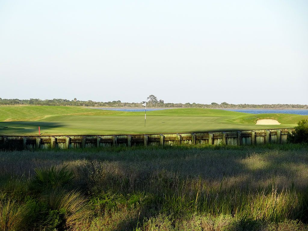 17th Hole at Ocean Forest Golf Club (216 Yard Par 3)