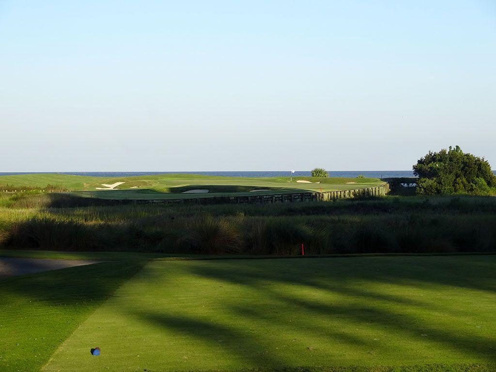 17th Hole at Ocean Forest Golf Club (216 Yard Par 3)