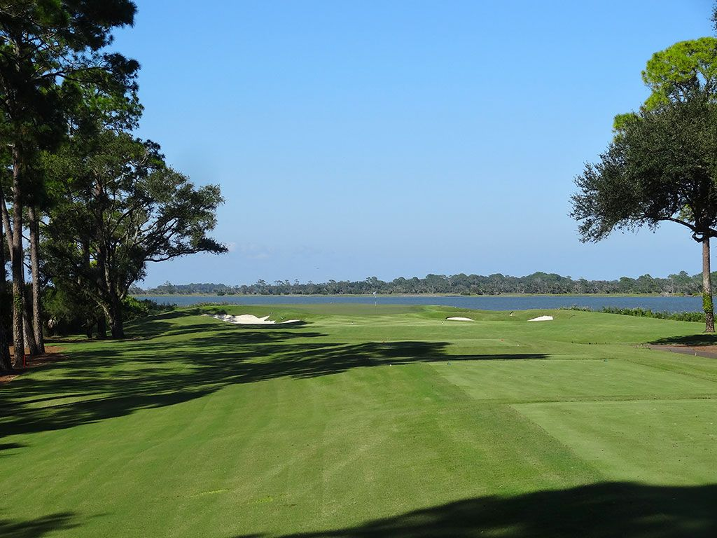 5th Hole at Ocean Forest Golf Club (194 Yard Par 3)