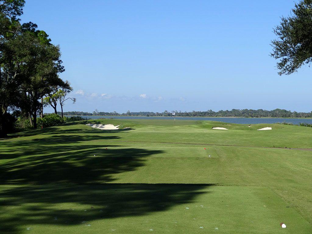 5th Hole at Ocean Forest Golf Club (194 Yard Par 3)