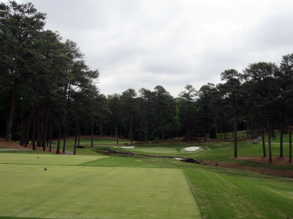 14th Hole at Peachtree Golf Club (183 Yard Par 3)