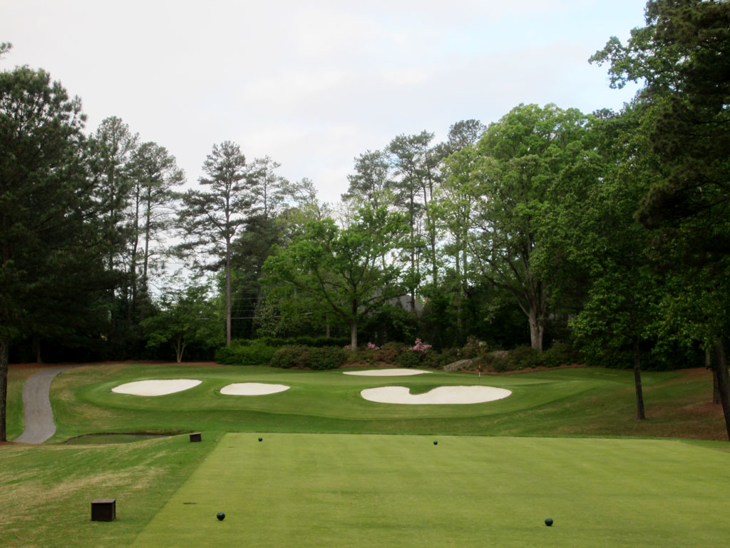 4th Hole at Peachtree Golf Club (166 Yard Par 3)