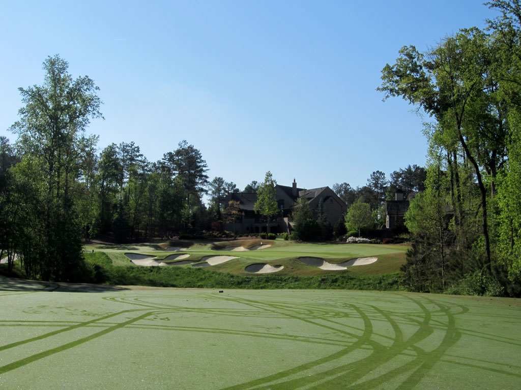 4th Hole at The River Club (610 Yard Par 5)