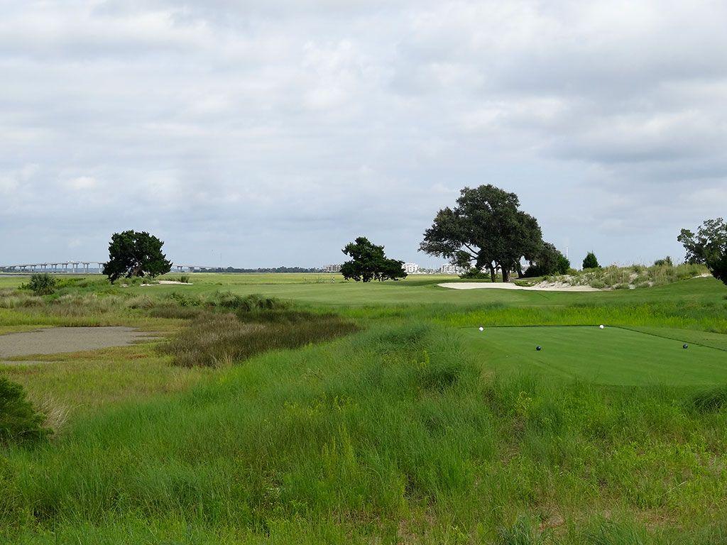 14th Hole at Sea Island Golf Club (Seaside) (407 Yard Par 4)