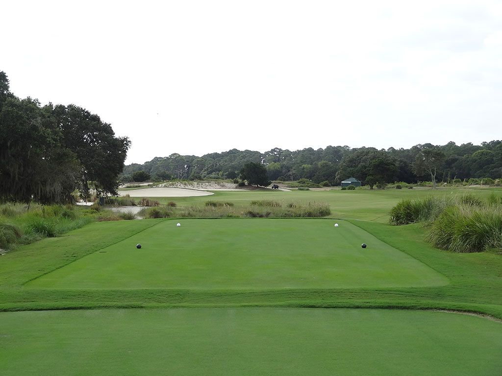 15th Hole at Sea Island Golf Club (Seaside) (545 Yard Par 5)
