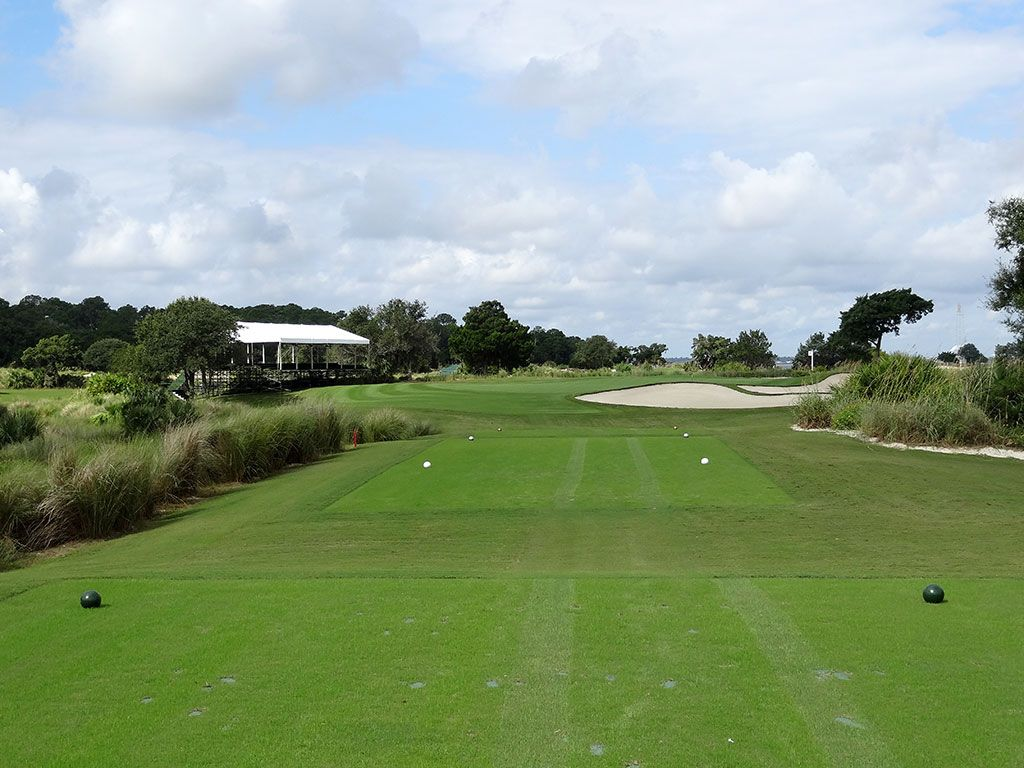 17th Hole at Sea Island Golf Club (Seaside) (176 Yard Par 3)
